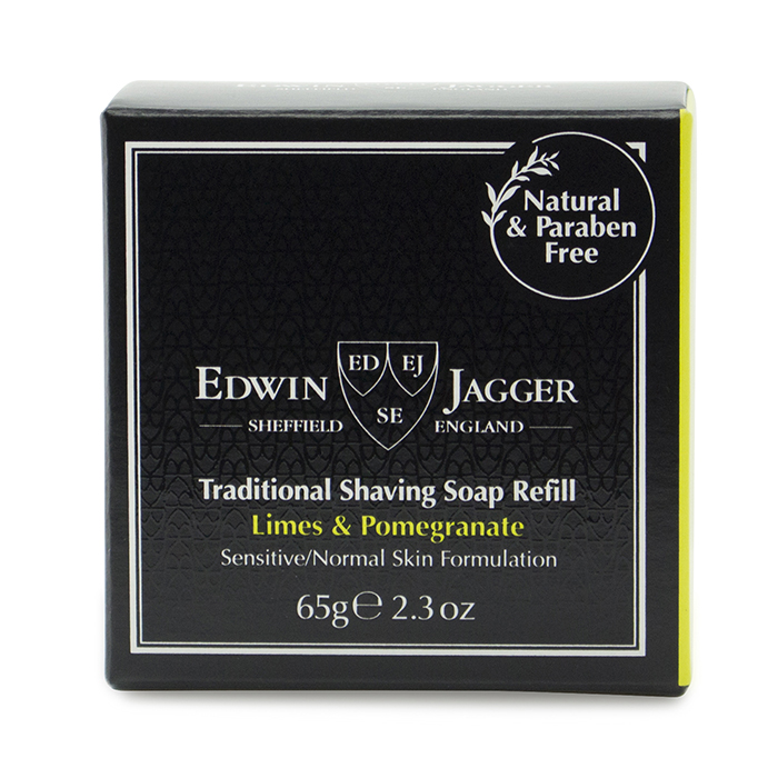 Edwin Jagger Shaving Soap Limes & Pomegranate SSLP
