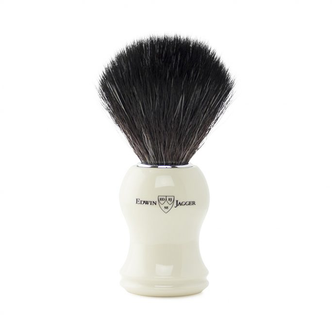 Edwin Jagger Synthetic Brush - Ivory - 21P37