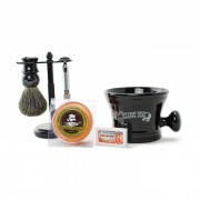 Col Conk Badger Brush & Merkur HD Safety Razor Set