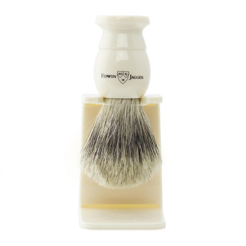 Edwin Jagger Shaving Brush - Best Badger & Stand - 1EJ877SDS