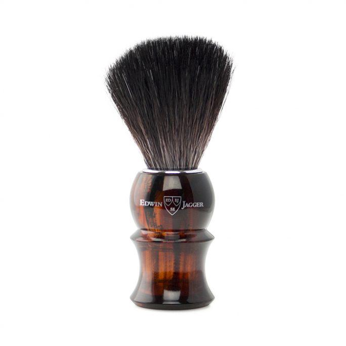 Edwin Jagger Synthetic Brush Faux Tortoise Shell 81P13