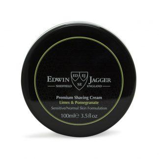 Edwin Jagger Shaving Cream Bowl Limes & Pomegranate SCLP