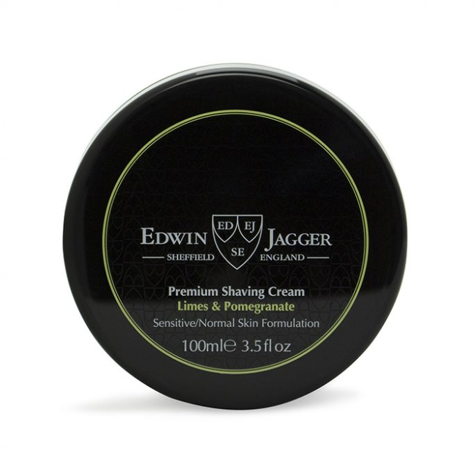 Edwin Jagger Shaving Cream Bowl Limes & Pomegranate SCLP