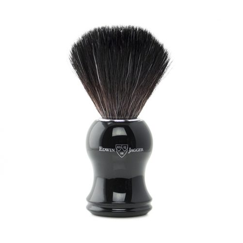 Edwin Jagger Synthetic Brush - Ebony - 21P36