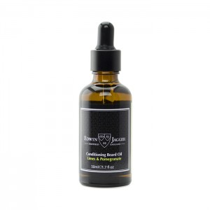 Edwin Jagger Beard Oil - Limes & Pomegranate - BOLP