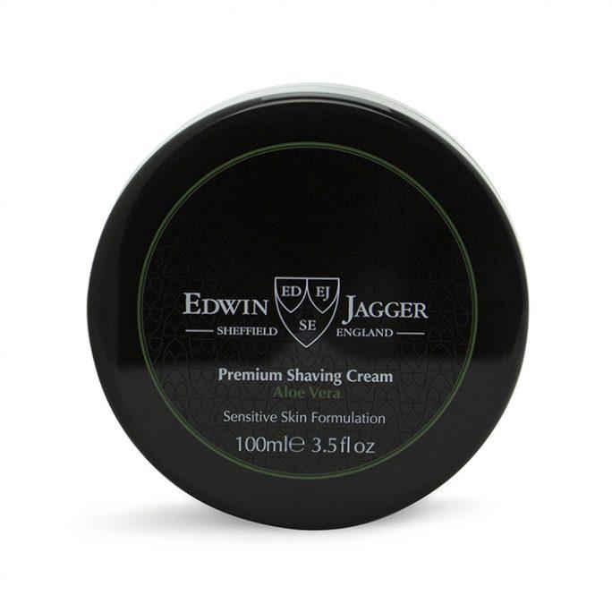 Edwin Jagger Shaving Cream Bowl Aloe Vera SCAV