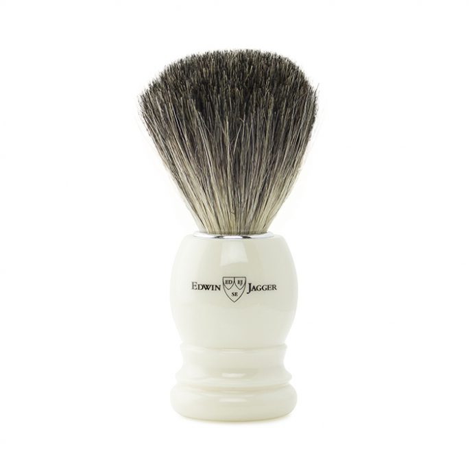 Edwin Jagger Shaving Brush – Pure Badger 81P27