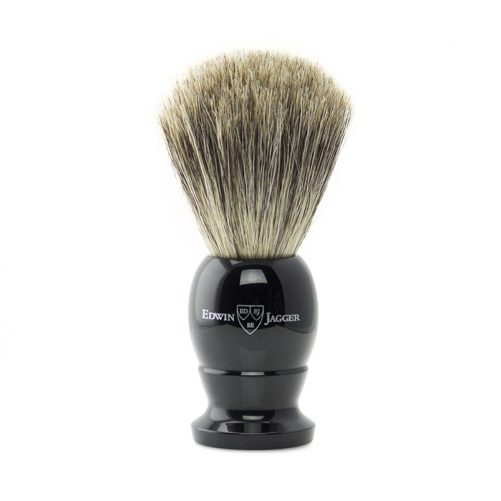 Edwin Jagger Shaving Brush - Ebony Best Badger - 1EJ876