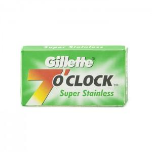 Gillette 7 O'Clock Safety Razors Green Box