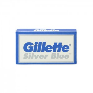 Gillette Silver Blue Safety Razors