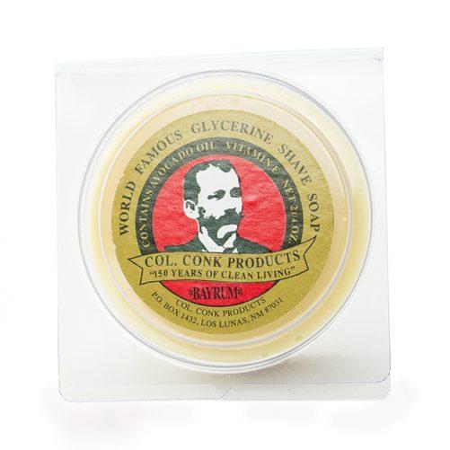Col Conk Bay Rum Shave Soap
