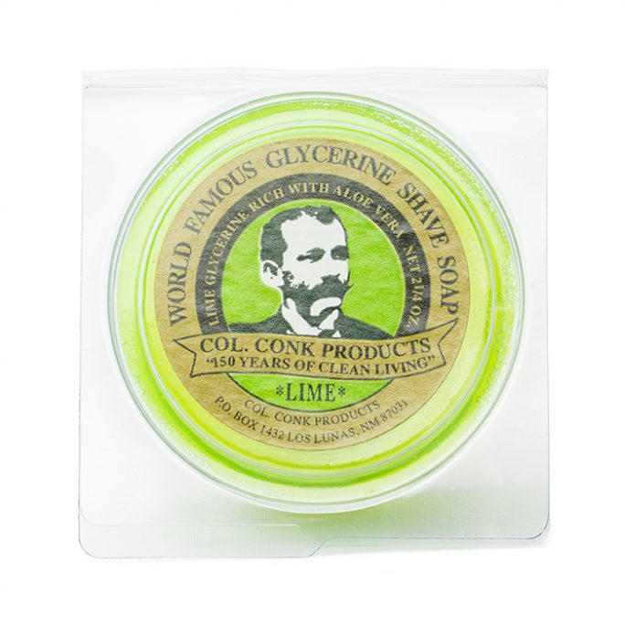 Col Conk Lime Shave Soap