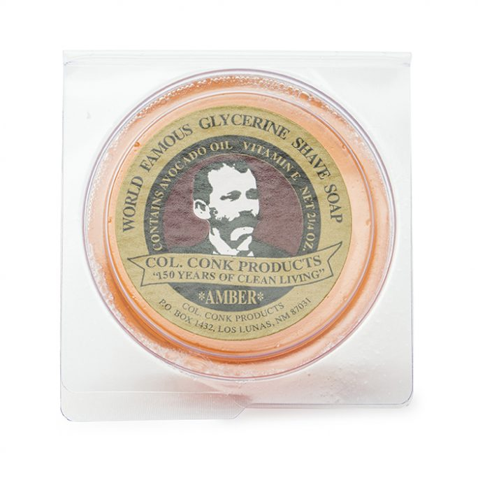 Col Conk Amber Shave Soap