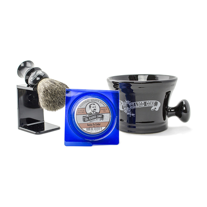 Col Conk Badger Brush Set