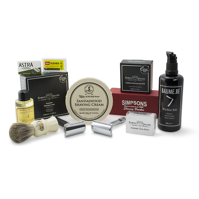 build your own bundle safety razor package. Black Bedroom Furniture Sets. Home Design Ideas