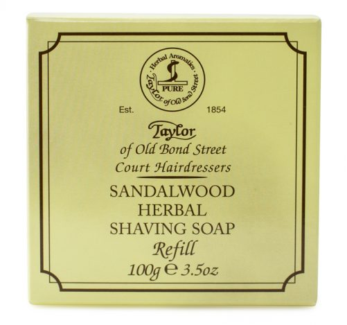 Taylor of Old Bond Street Hard Shaving Soap Sandalwood