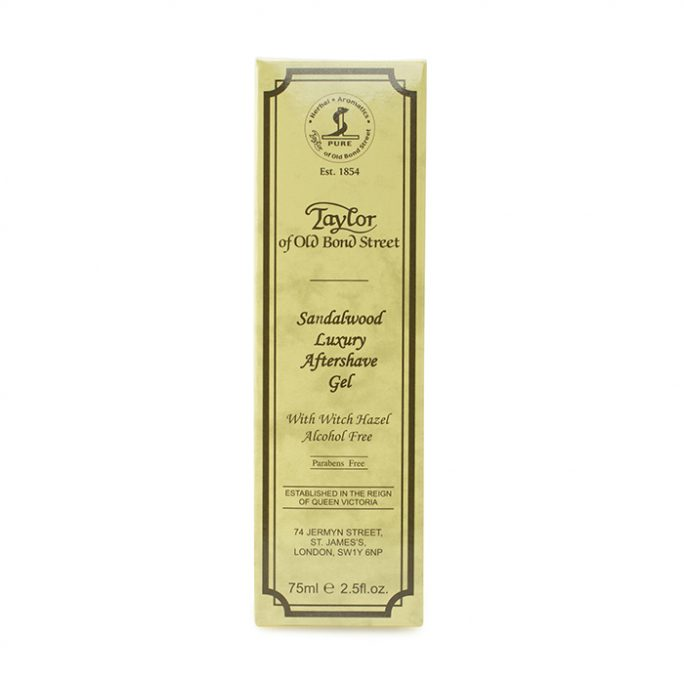Taylor of Old Bond Street Luxury Aftershave Gel Sandalwood