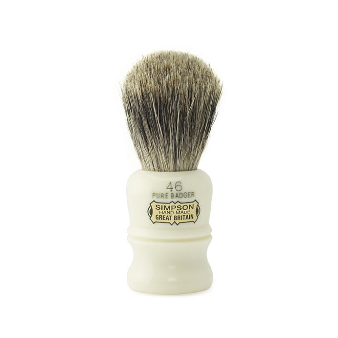 Simpsons Shaving Brush - Berkeley 46 Pure Badger