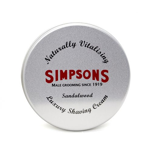 Simpsons Shaving Cream - Sandalwood