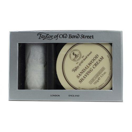 Taylor of Old Bond Street Pure Badger & Sandalwood Gift Box