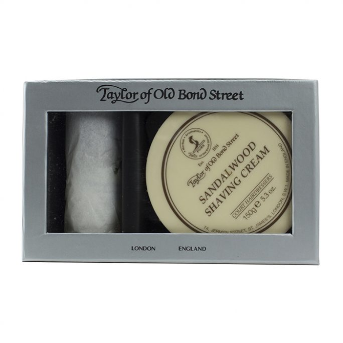 Taylor of Old Bond Street Pure Badger & Sandalwood Gift Box