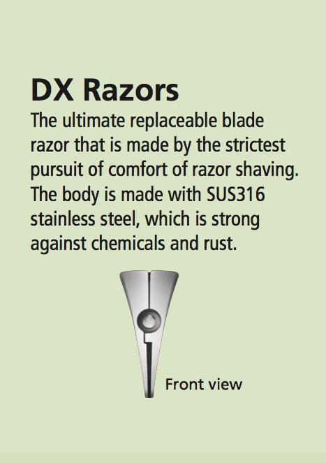 Feather Artist Club DX Razor - White