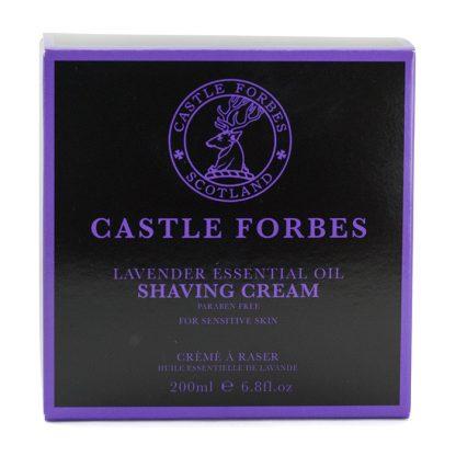 Castle Forbes Lavender Essential Shaving Cream
