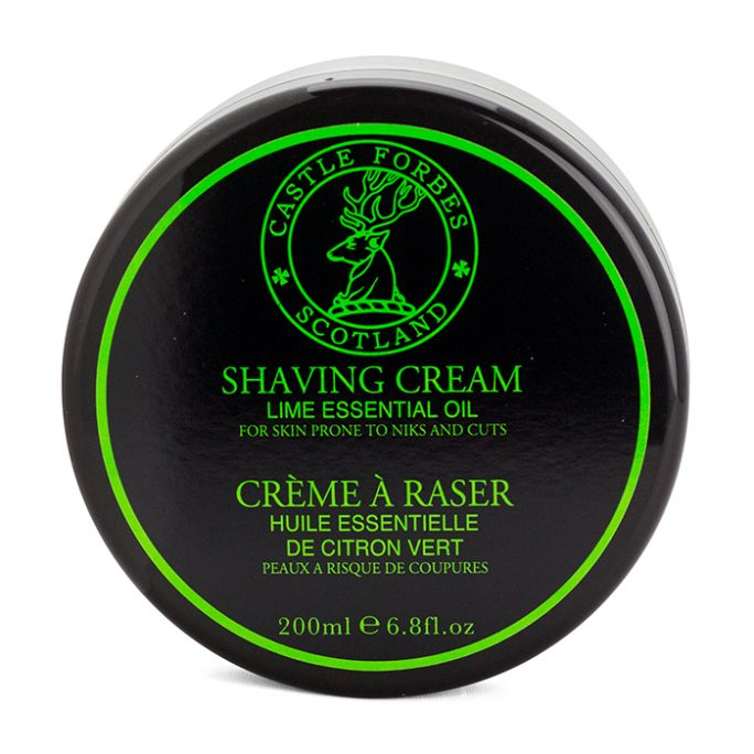 Castle Forbes Lime Essential Shaving Cream