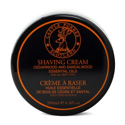 Castle Forbes Cedarwood & Sandalwood Shaving Cream
