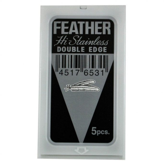 Feather Safety Razor Blades - 5 pack