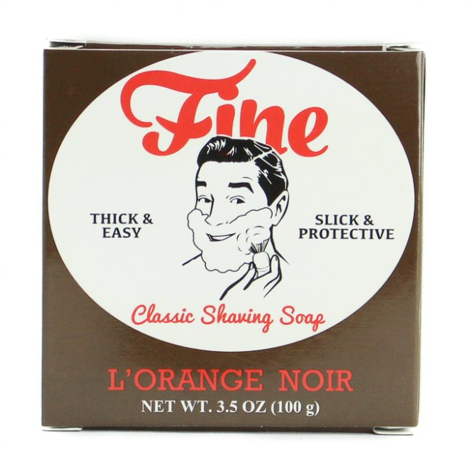 Fine L'Orange Noir Shaving Soap