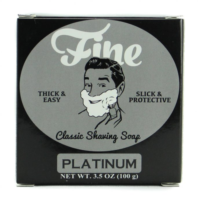 Fine Platinum Shaving Soap
