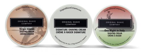 Shaving Cream Trio